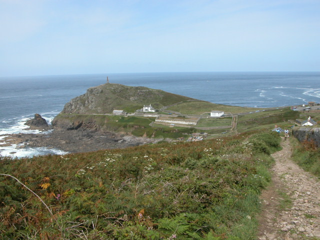 Cape Cornwall from the Coastal Walk.
