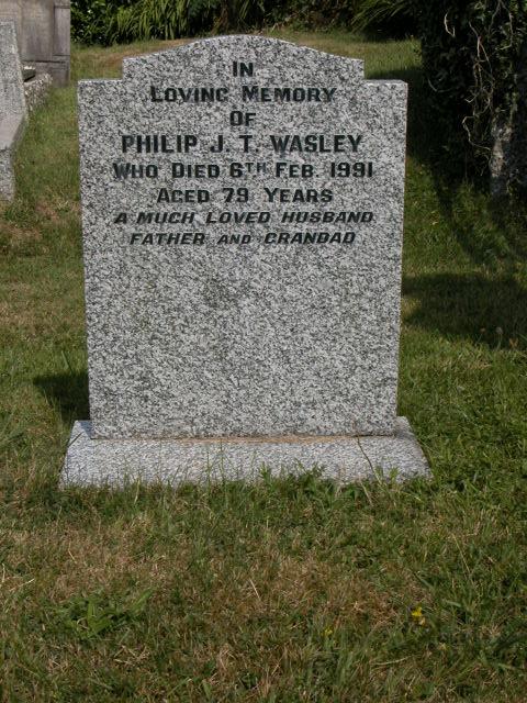 Philip J T Wasley