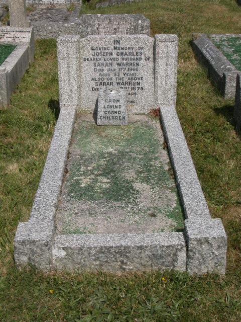 Joseph Charles Warren Sarah Warren