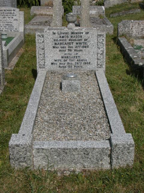 Amos Mason White Margaret White