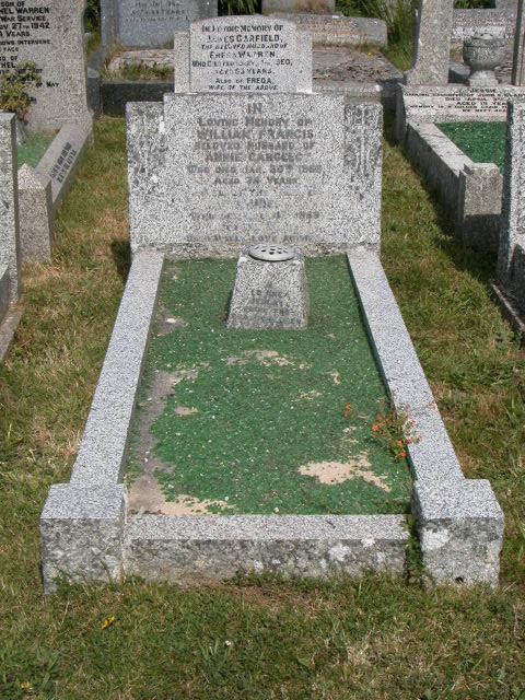 William Francis Cargeeg Annie Cargeeg