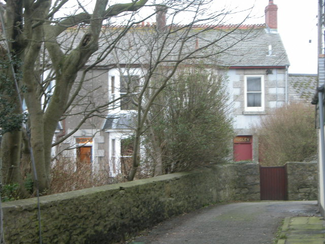 Top two houses in Nancherrow Terrace, St Just