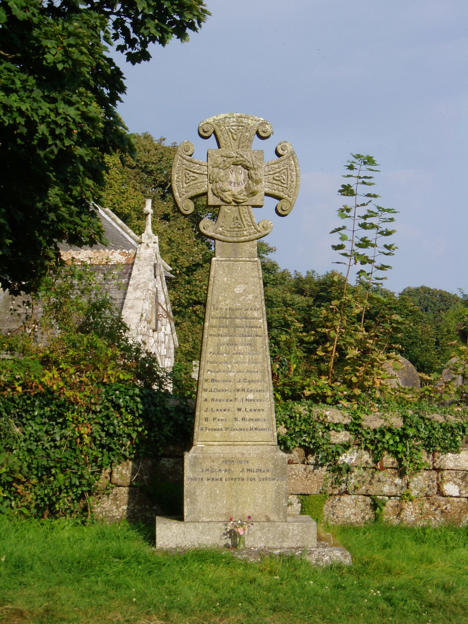 Sancreed War Memorial