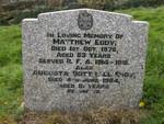 Matthew Eddy Augusta Bottrall Eddy