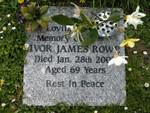 Ivor James Rowe