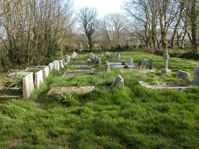Lower graveyard at Sancreed Parish Church