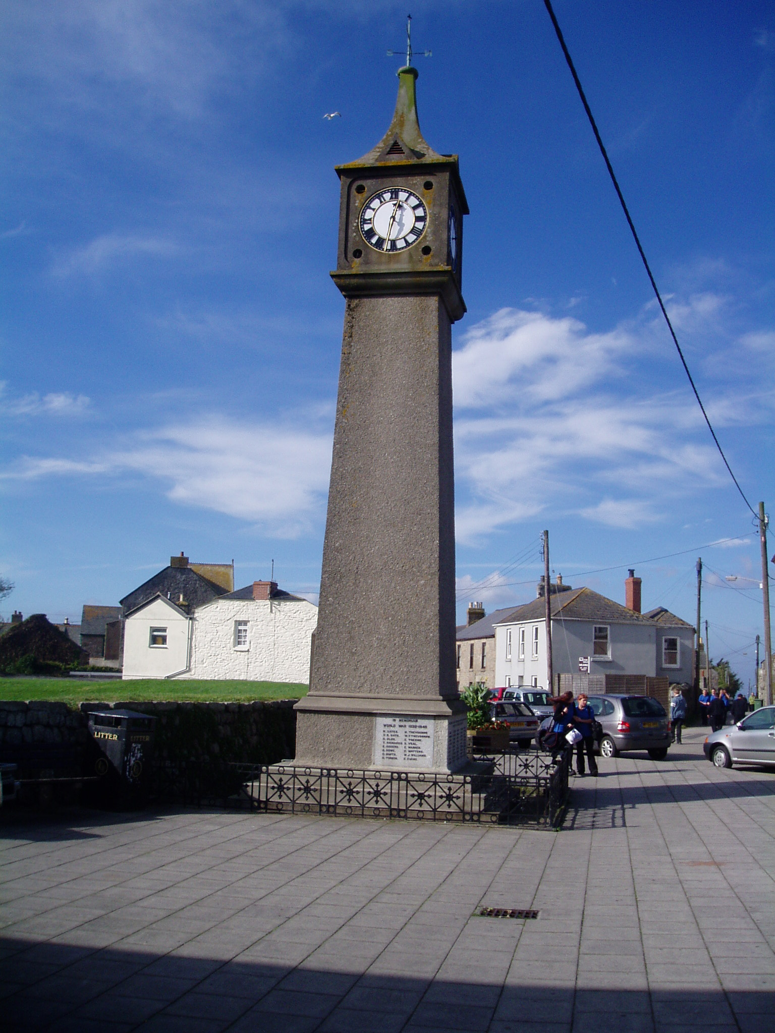 War Memorial in St Just