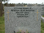 Bertha May Martin