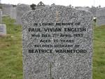 Paul Vivian English