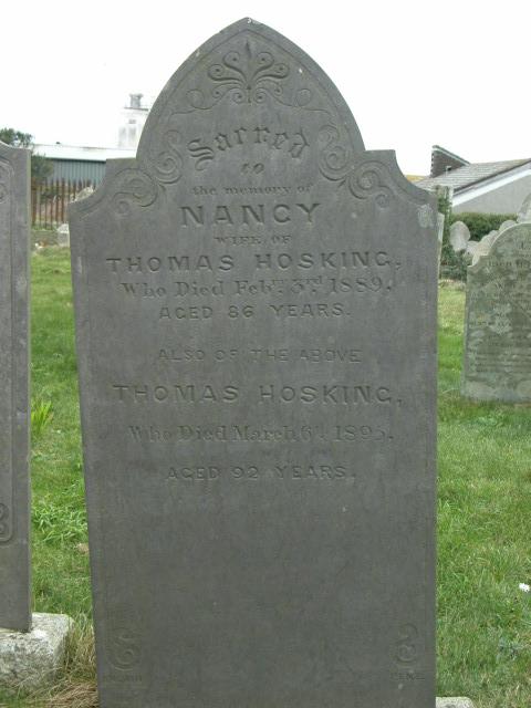 Nancy Hosking Thomas Hosking