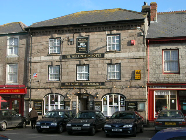 The Wellington Hotel, Market Square, St Just