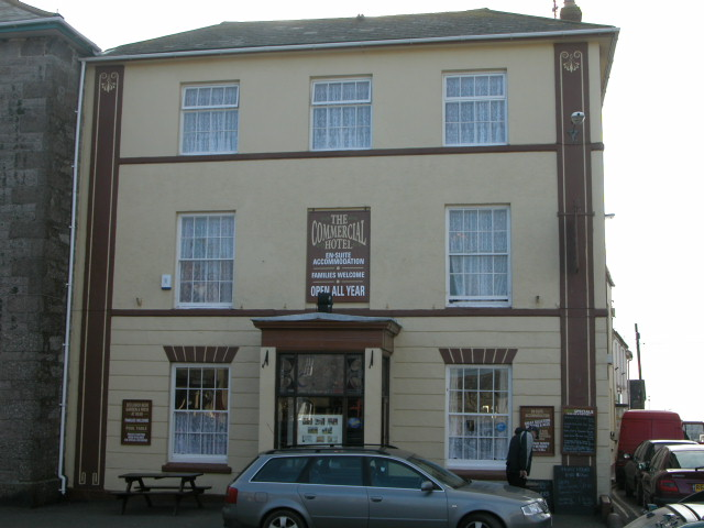 The Commercial Hotel, Market Square, St Just