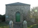 Tregerest Chapel front view from roadside.
