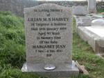 Lilian M S Harvey Margaret Jean Harvey